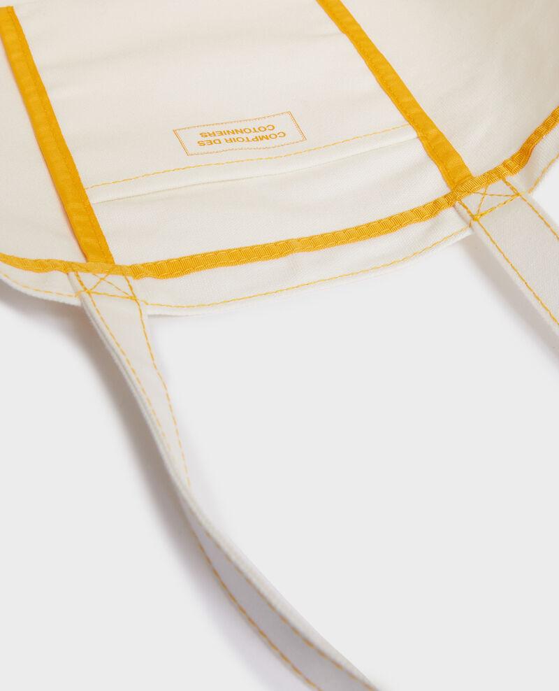 Tasche aus gemustertem Segeltuch Gold fusion Moncdc