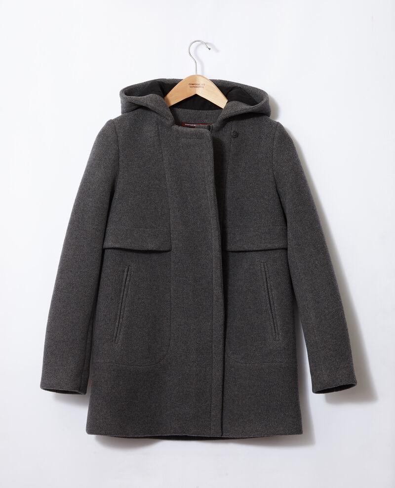 Mantel mit Kapuze  Grau 9balex