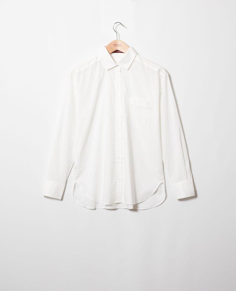 Zeitlose Bluse aus Baumwolle Coconut milk Jilouette