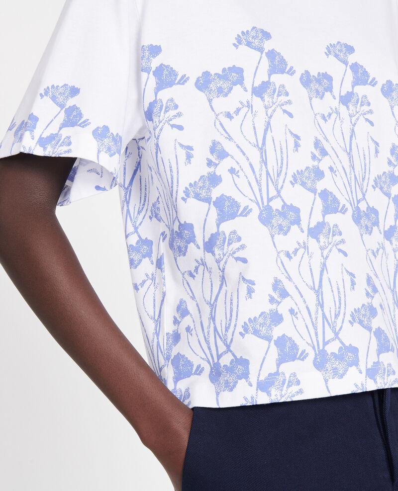 T-Shirt aus Baumwolle Empreinte gardenia jewel Lenoyera