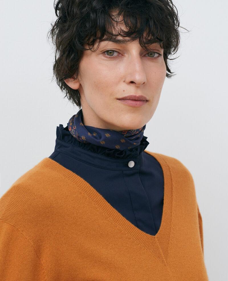 3-D-Kaschmir-Pullover Sudan brwn Paulmy