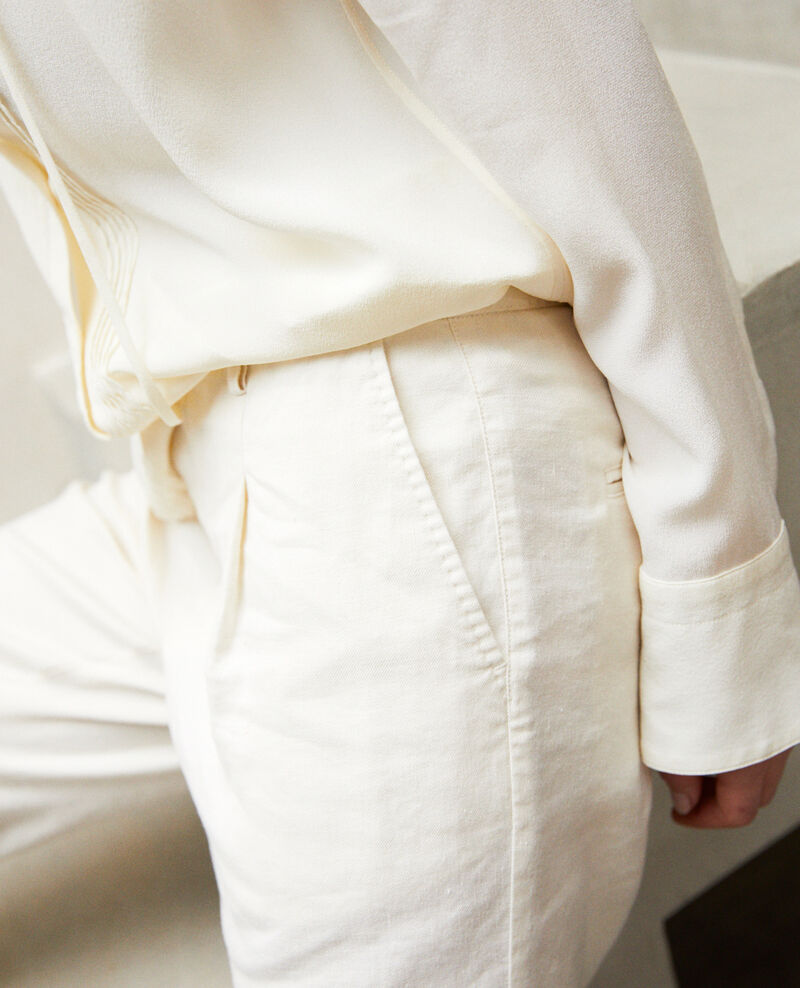Karottenhose Off white Imande