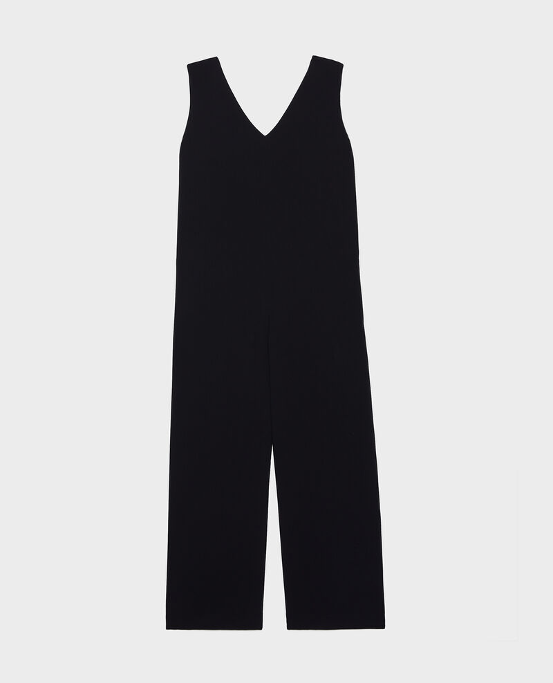 Jumpsuit aus Viskose Black beauty Lintrex