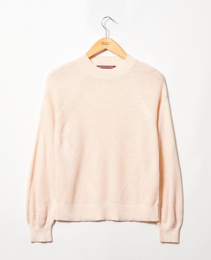 Pullover mit Stehkragen Natural beige Icote