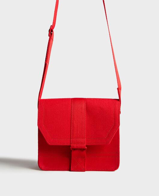 Kleine Tasche aus Baumwolle FIERY RED