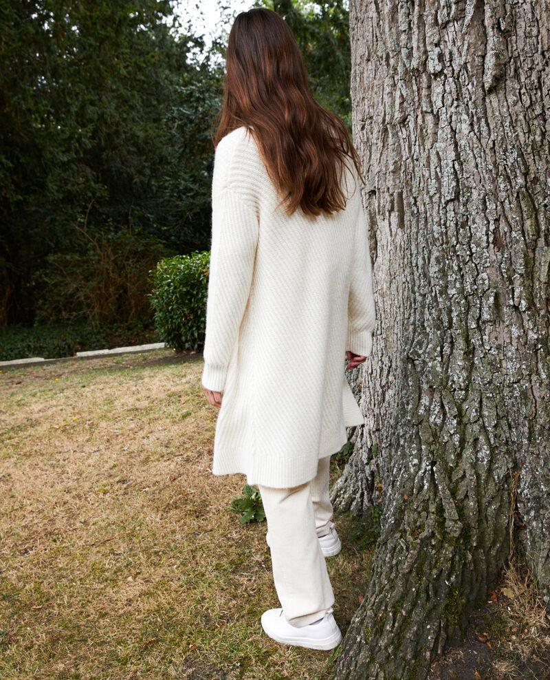 Rippstrick-Pullover Off white Jokin