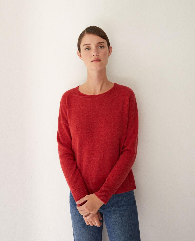 Pullover aus Kaschmir Pompeian red Geraldine