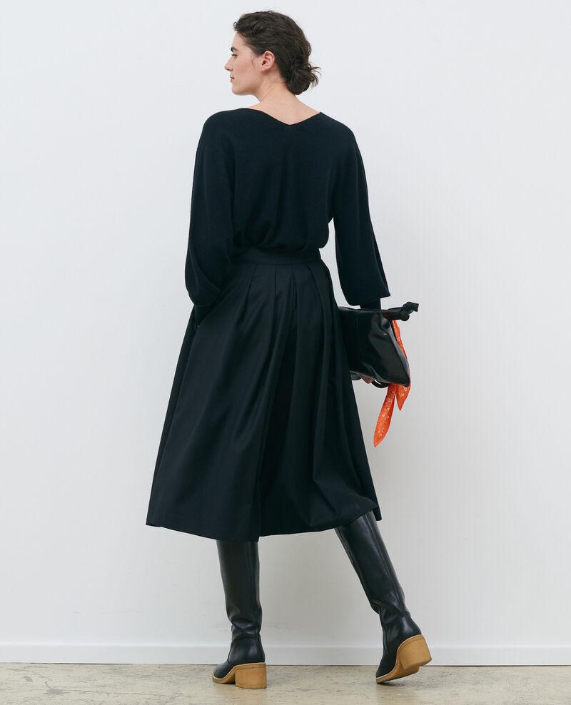 3-D-Kaschmir-Pullover Black beauty Paulmy