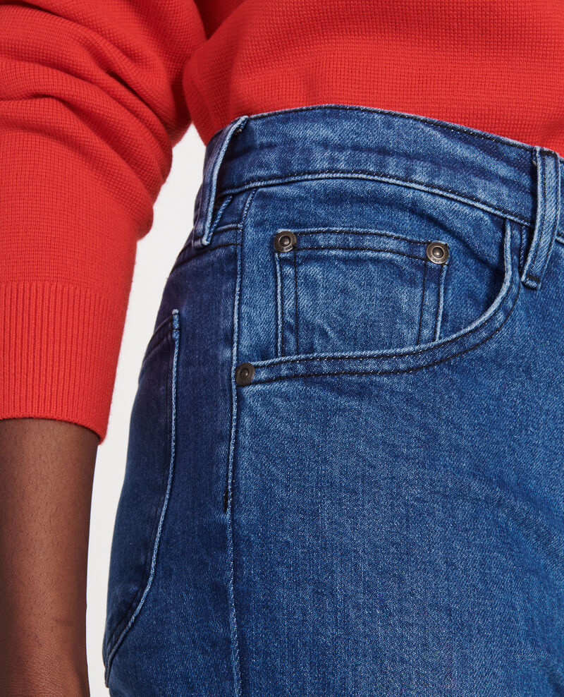 Gerade geschnittene Jeans Denim medium wash Linneou