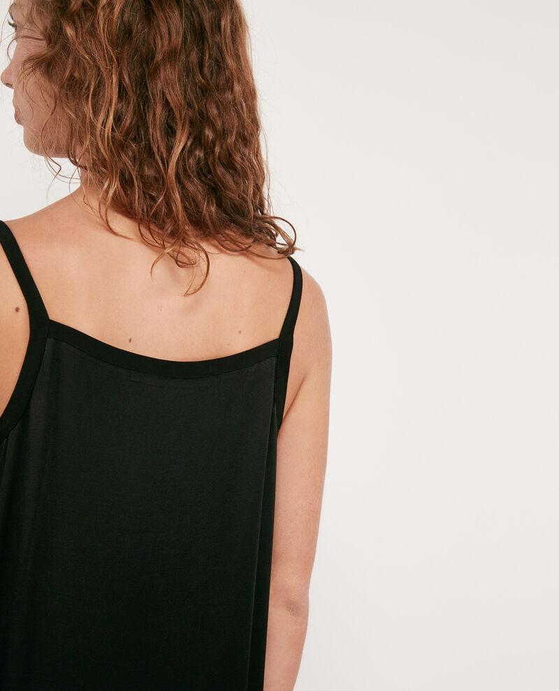 Kleid mit Satineffekt Noir Discovery
