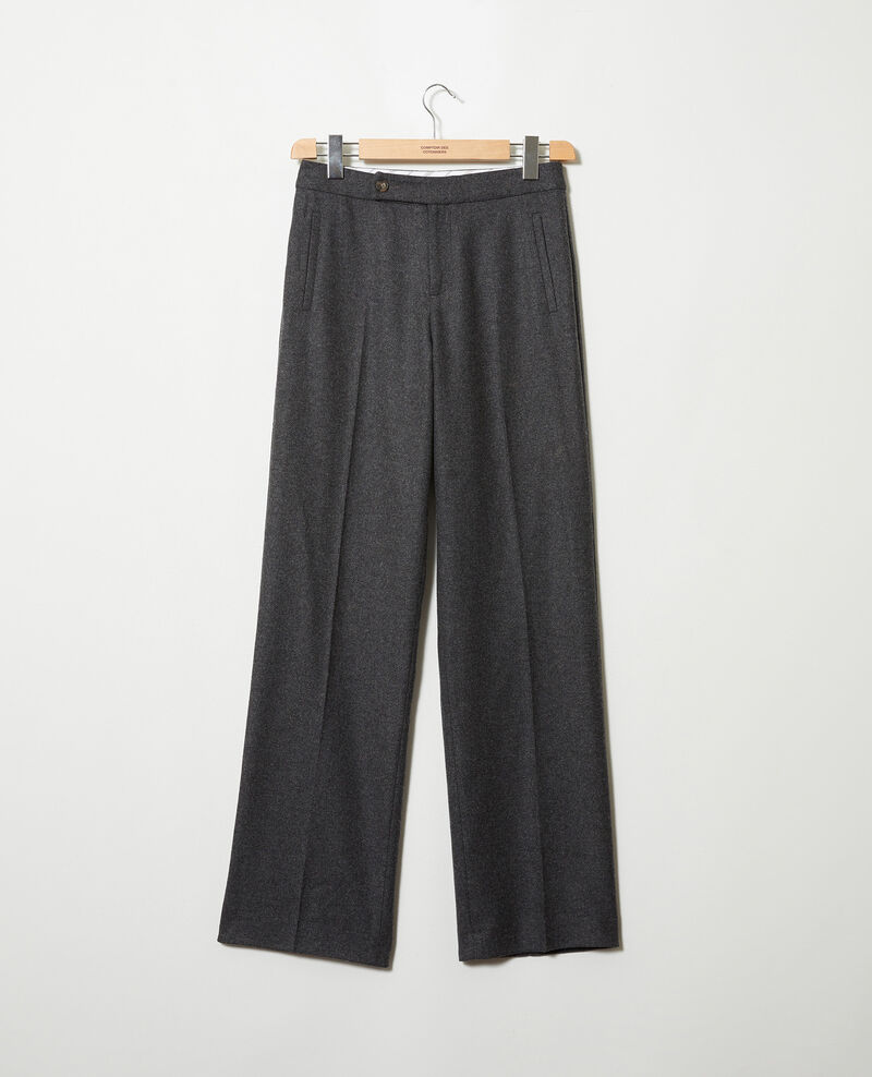 tailoring-Hose mit Wolle Heather grey Jermes