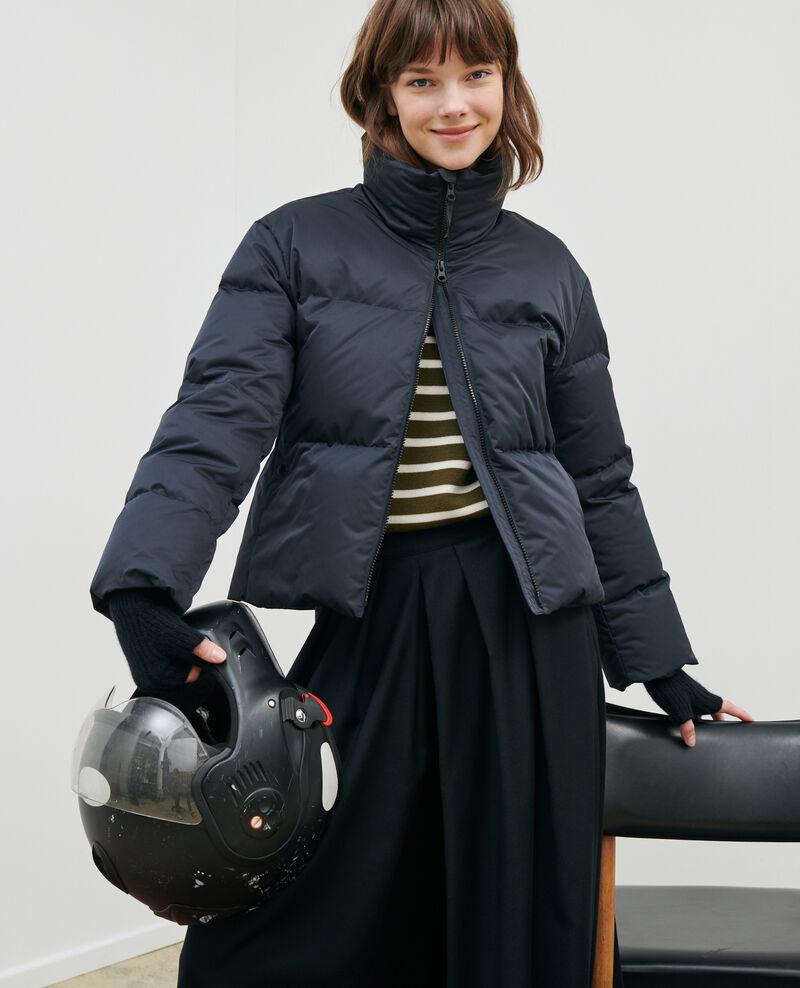 MARGOTTE - Kurze, taillierte Daunenjacke Black beauty Maure