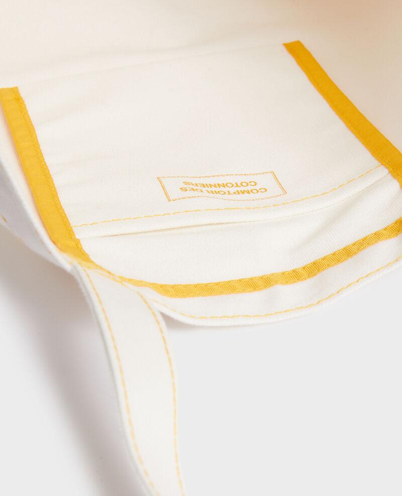 Tasche aus gemustertem Segeltuch Gold fusion Mairie