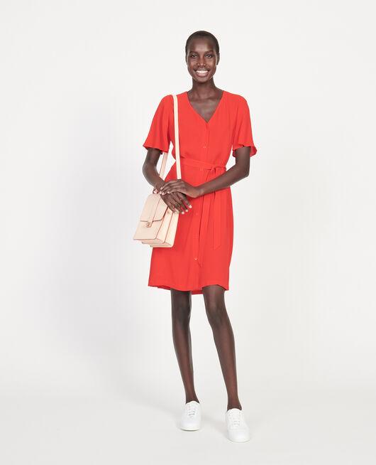Fließendes Kleid FIERY RED