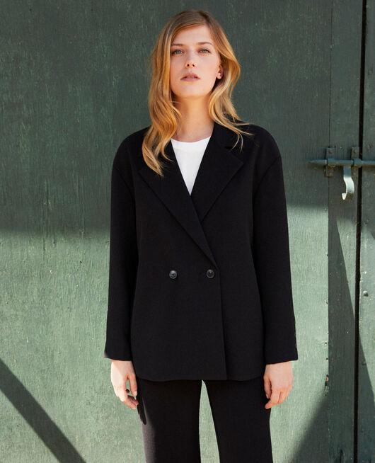 tailoring-Blazer NOIR