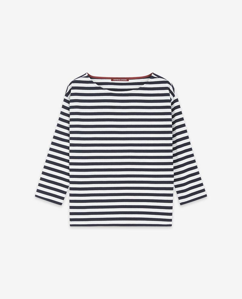 T-Shirt im Marinelook Navy/off white Ditoc