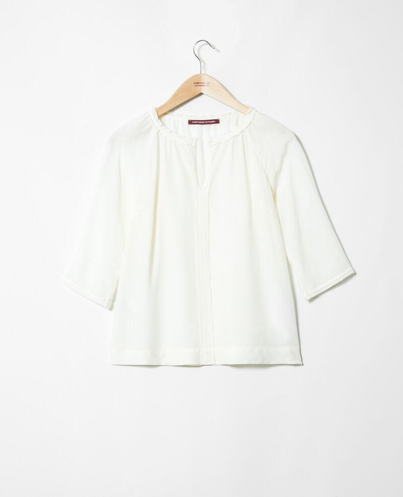 Bluse mit Seide Off white Jalandre