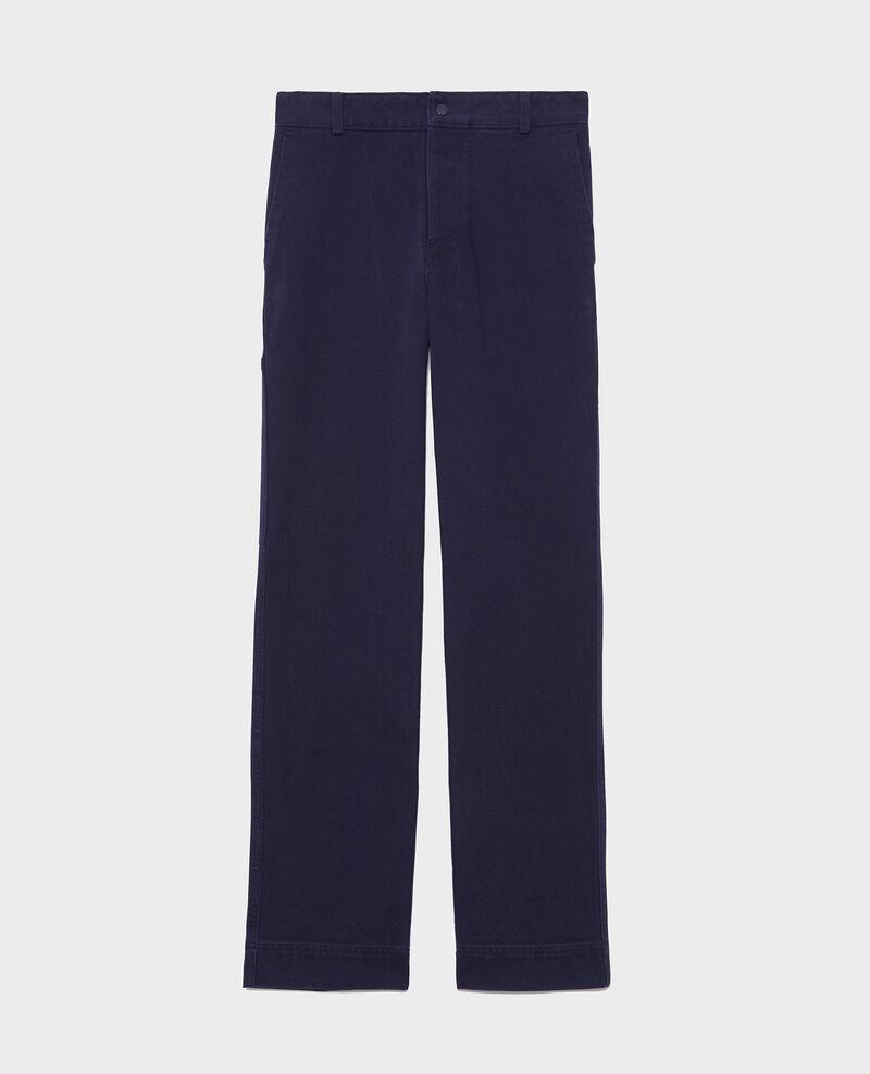 Hose mit Taschen Maritime blue Laora