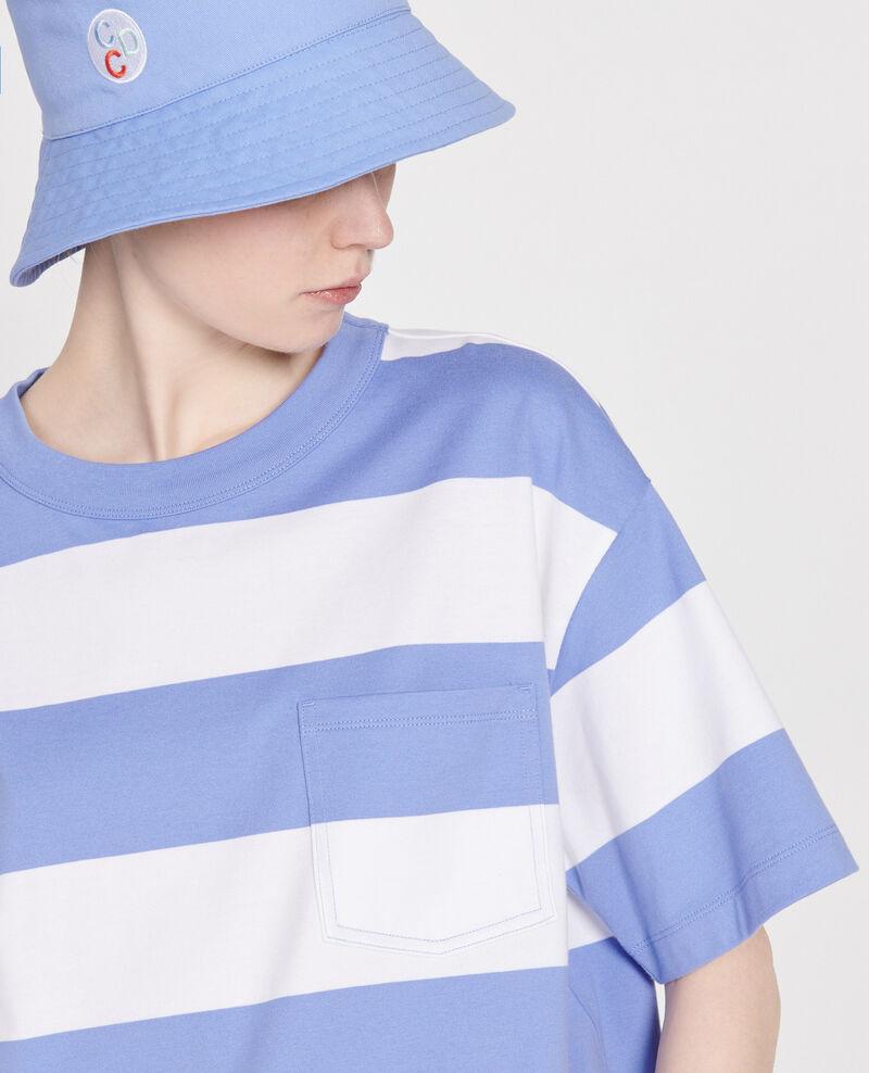 Gestreiftes Oversize T-Shirt Str opticalwhite persianjewels Lord