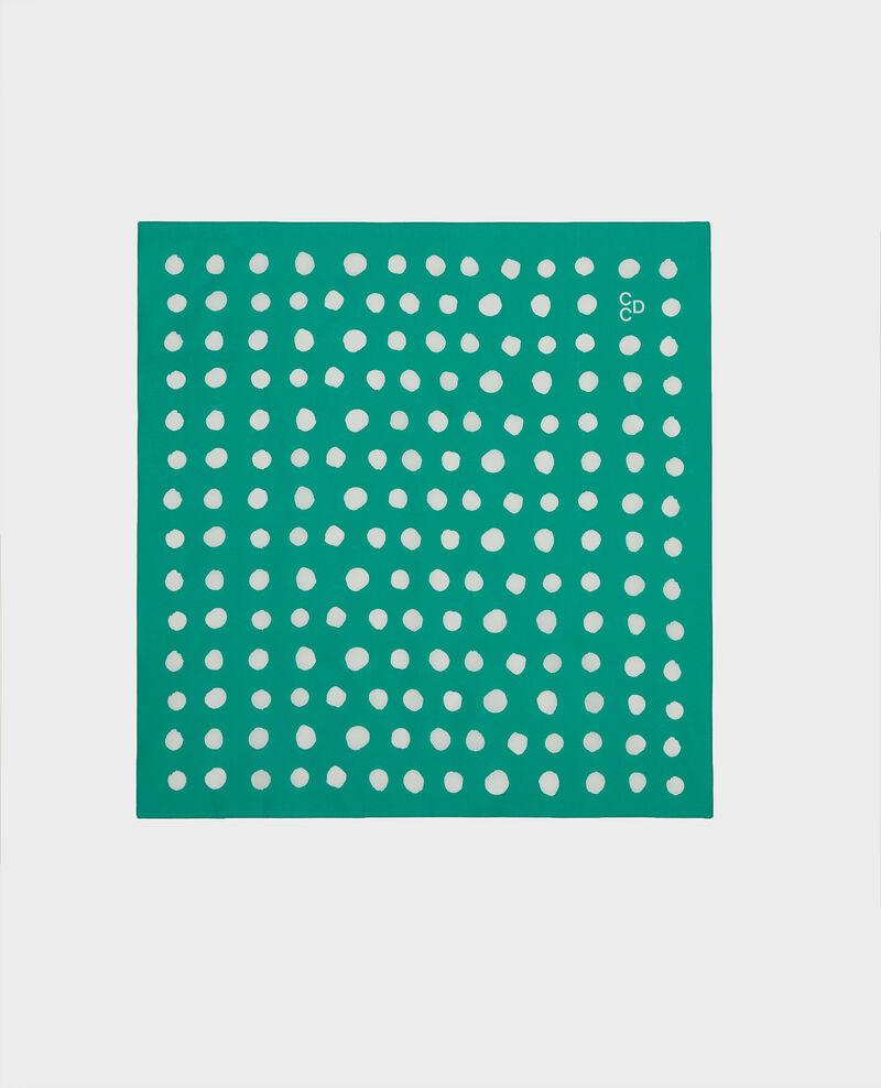 Tuch aus Baumwolle Golf green Lury