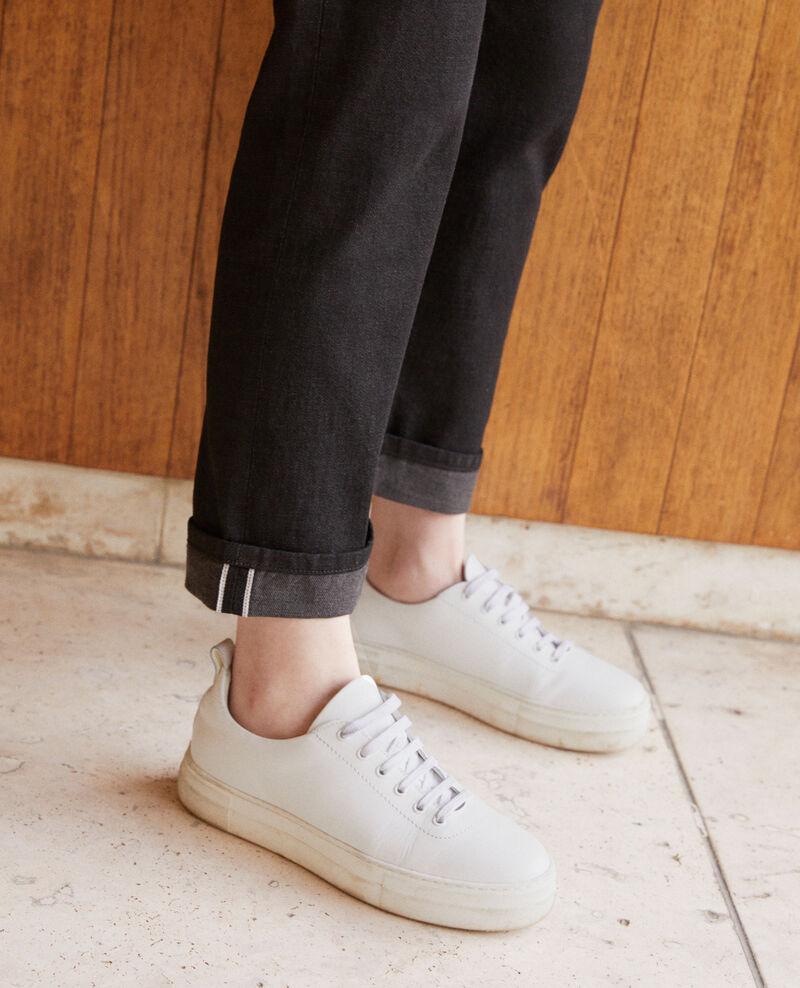 Real Straight-Jeans Schwarz Goberta
