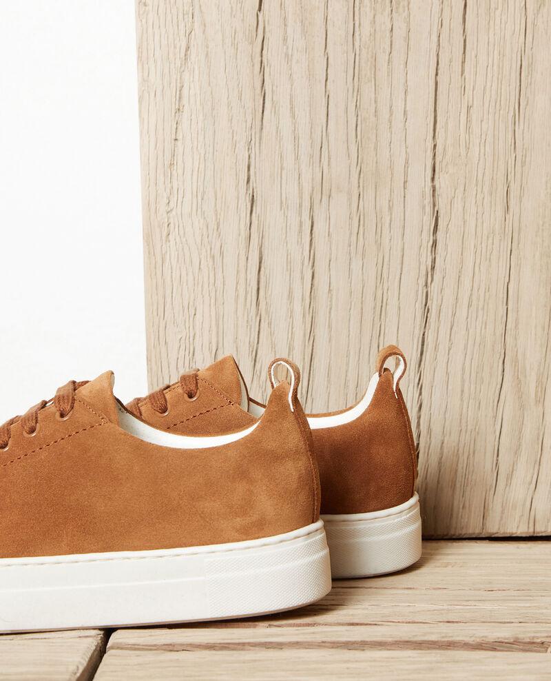 Plateau-Sneakers  Camel Jiginas