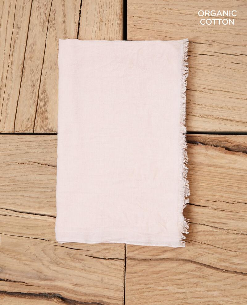 Tuch aus Organic Baumwolle Light pink Geste