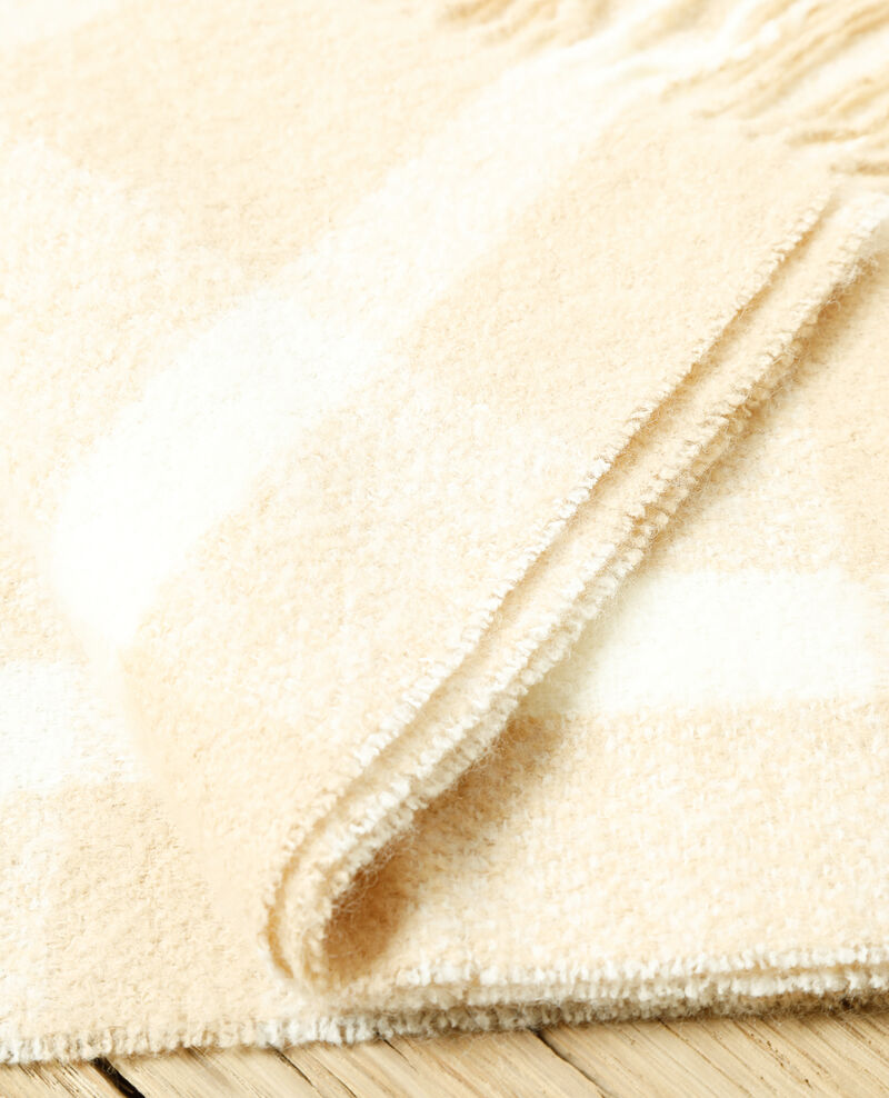 Langer Schal Silver gray/off white Girasol