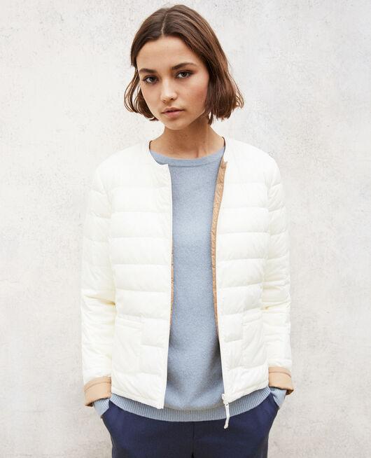 Wendebare Jacke Mademoiselle Plume Blanc