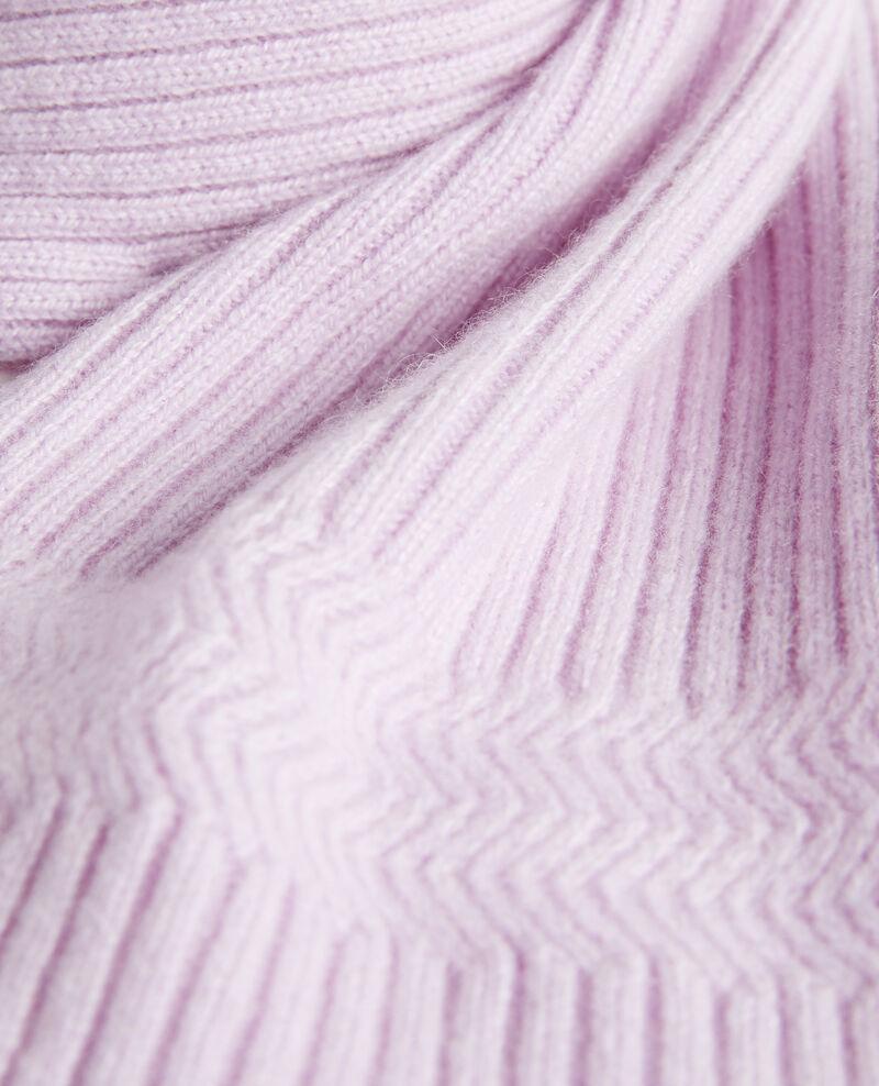 Schal aus Kaschmir Pastel lilac Miosa