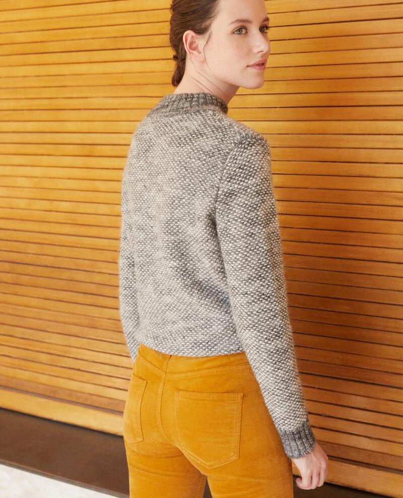 Pullover mit Stehkragen Silver gray/trush Gretel