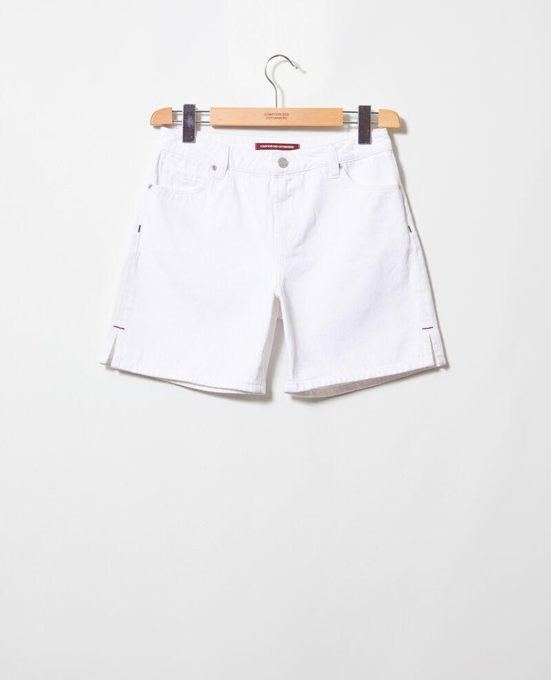 Shorts aus Jeans Blanc Istruli