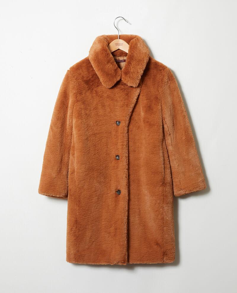 Mantel aus Pelzimitat Lion Jaout