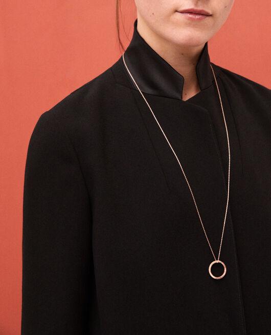 Halskette mit rundem Anhänger COOPER