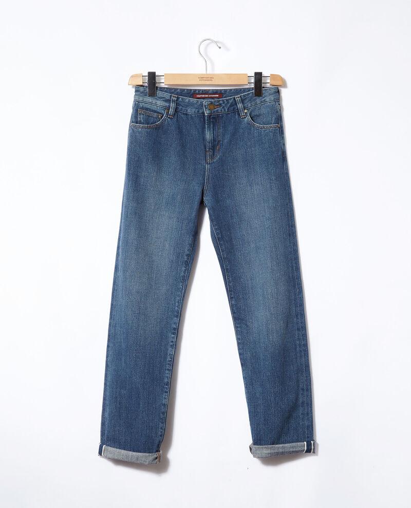 Real Straight-Jeans Blau Ganon