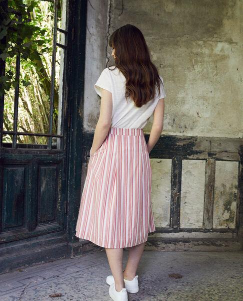 Comptoir des Cotonniers - jupe portefeuille en coton - 3