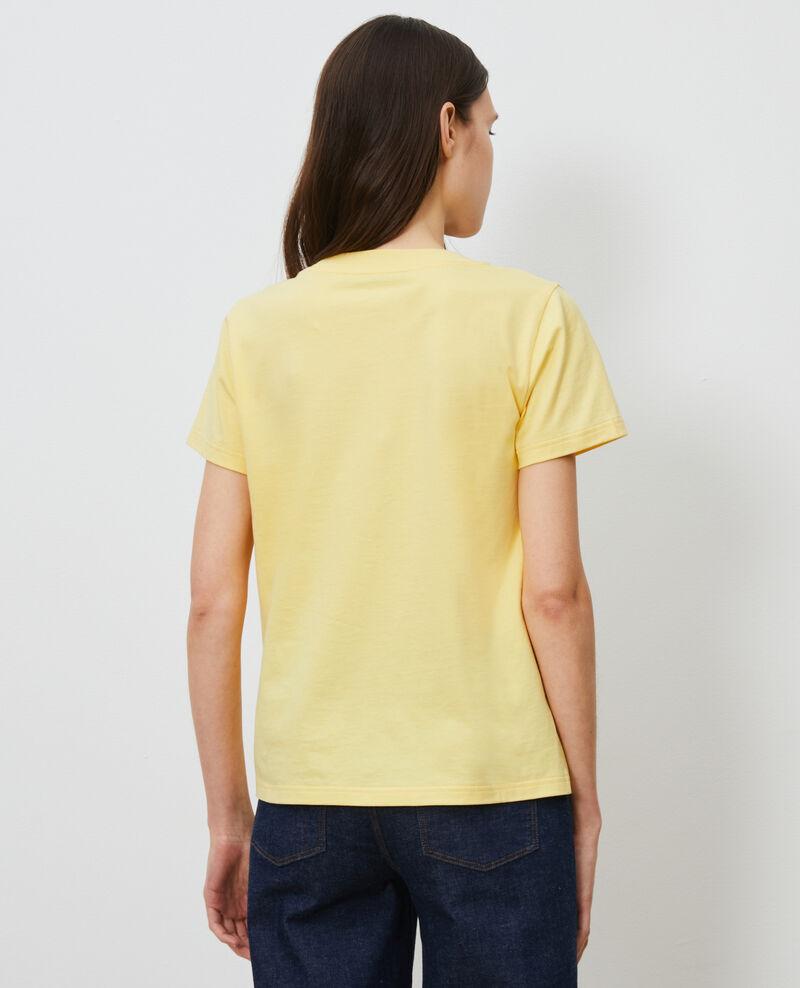 T-Shirt aus Baumwolle mit kurzen Ärmeln Lemon drop Mae