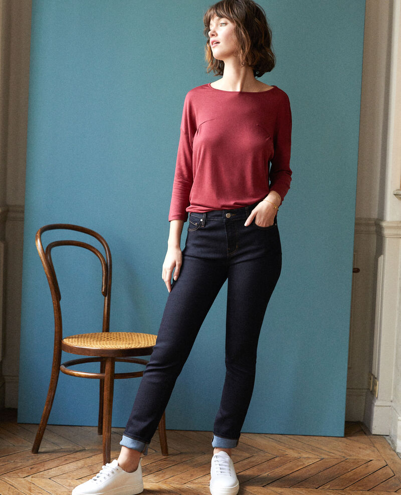 Slim-Jeans Blau Gocile