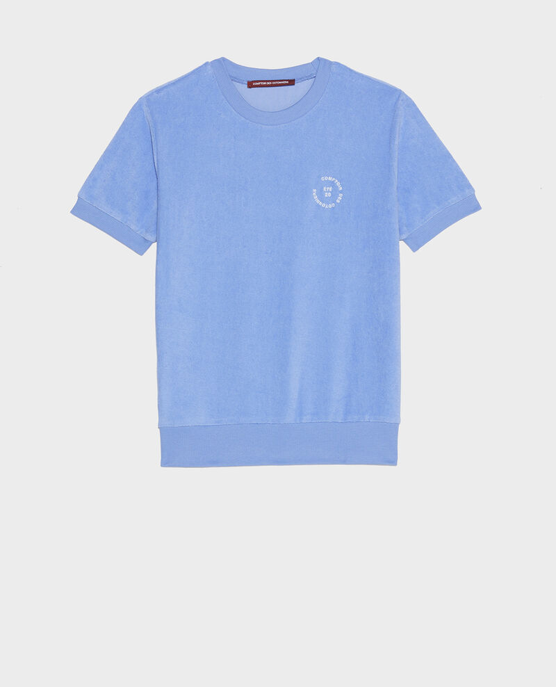 T-Shirt aus Baumwolle Persian jewel Lis