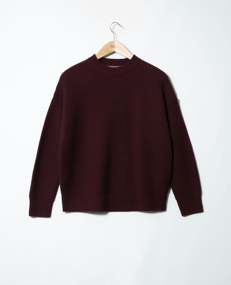 Rippstrick-Pullover Fudge Jaslo