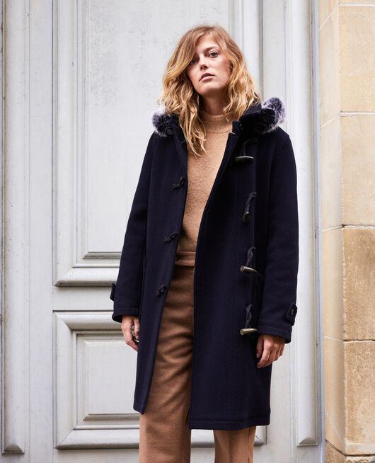 Mantel im Dufflecoat-Stil DARK NAVY