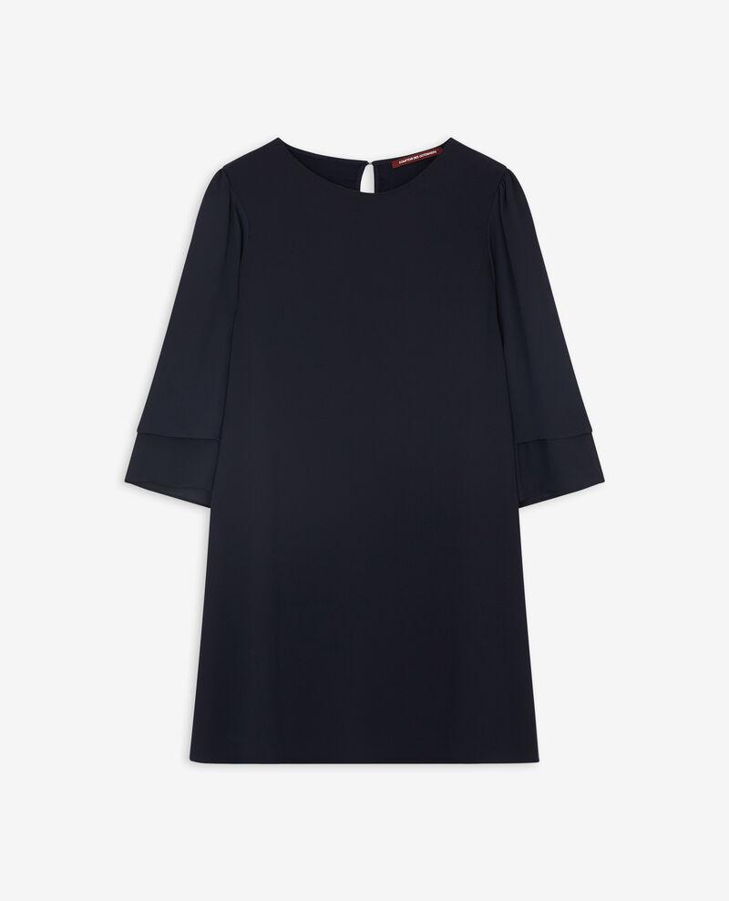 Kleid mit ausgestellten Ärmeln Navy Dolita