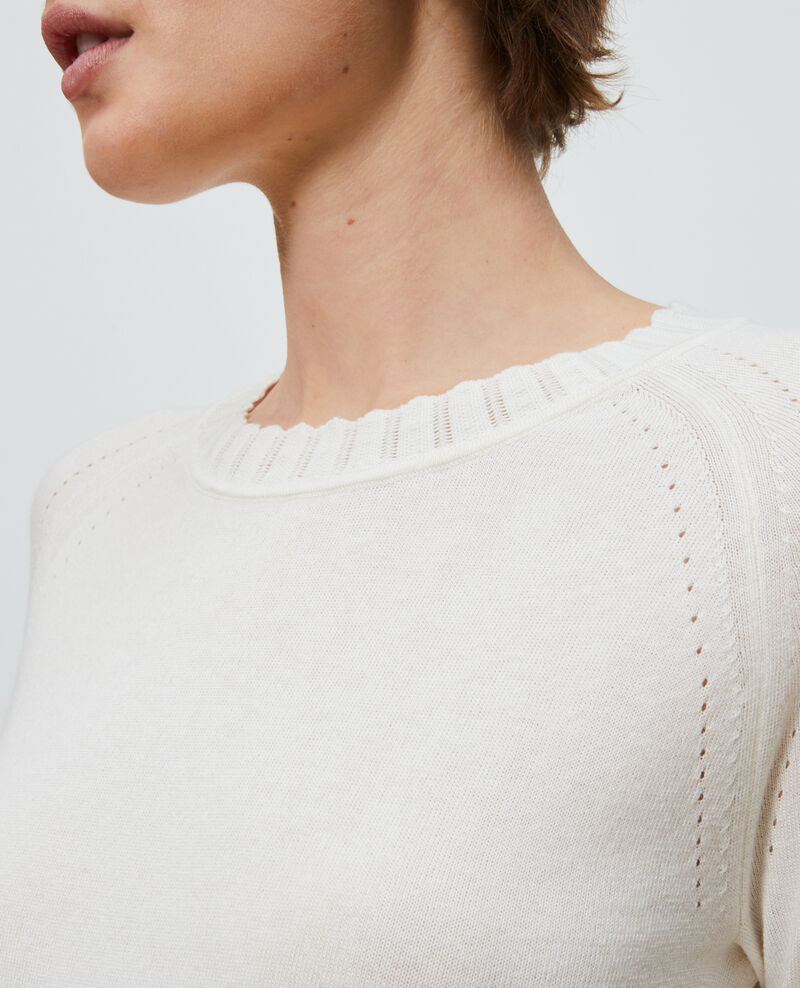 Pullover aus Baumwolle und Seide Gardenia Nita
