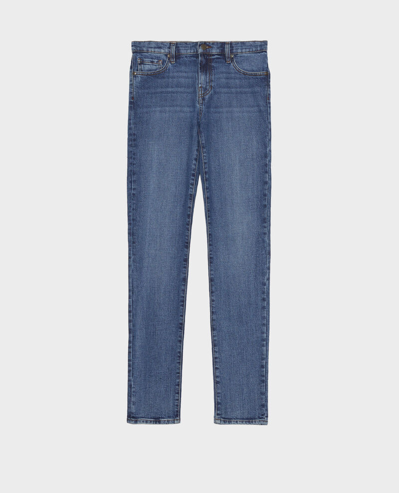 LILI - SLIM - Jeans 5 Taschen Denim medium wash Mandro