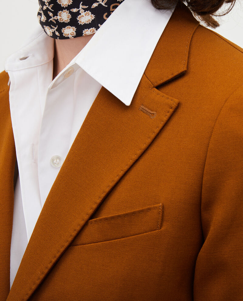 Leichter Blazer aus Trockenwolle Monks robe Luscade