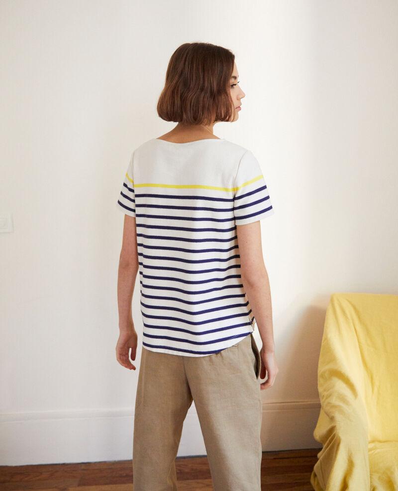 Matrosen-T-Shirt Ow/navy/yello Imarin