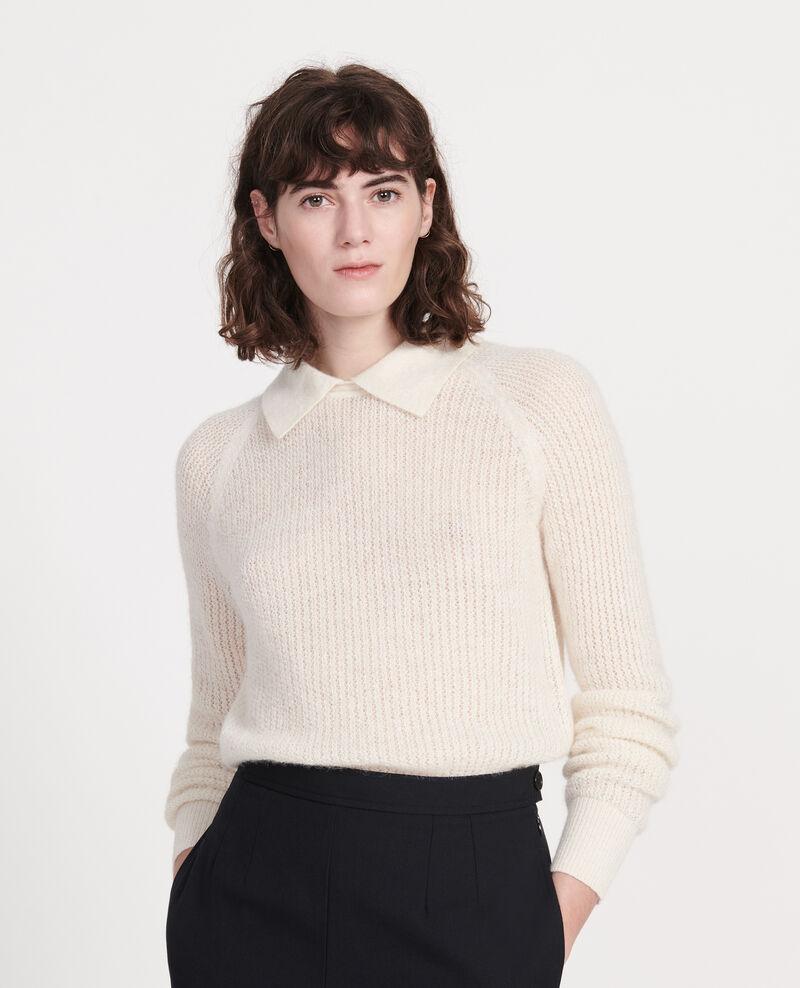 Pullover mit Alpaka Buttercream Louisa