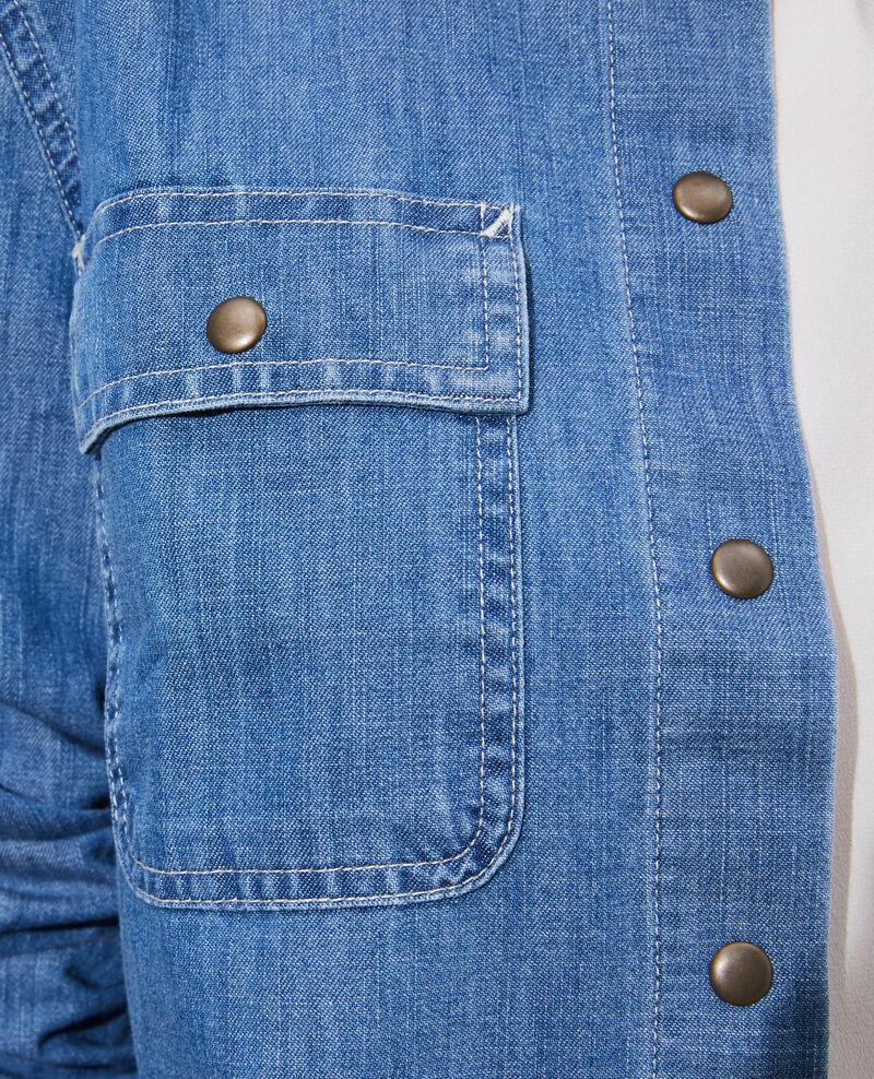 Jeanshemd mit Taschen Denim medium wash Nadigna