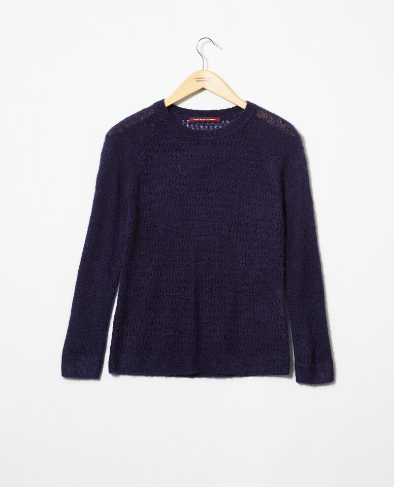 Pullover aus Zierstrick  Ink navy Iceo