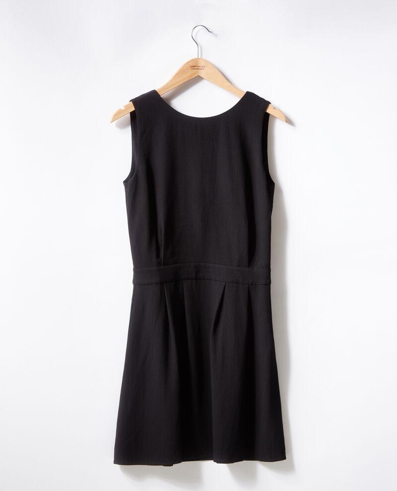 Kleid mit Rückendekolleté Noir Fidele
